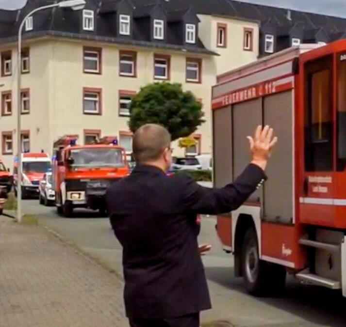 Kreisbrandinspektor Rupert Heege geht in den Ruhestand