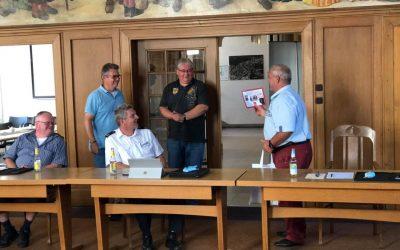 Erste Vorstandssitzung nach Corona-Lockdown